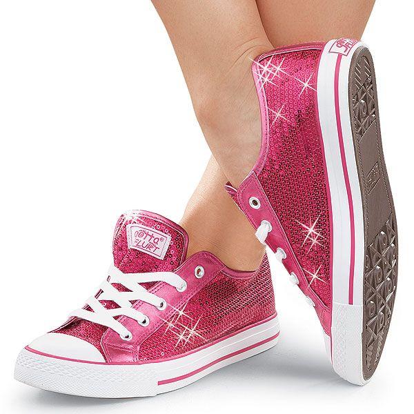 Metallic Blue S Tennis Shoes With Heels