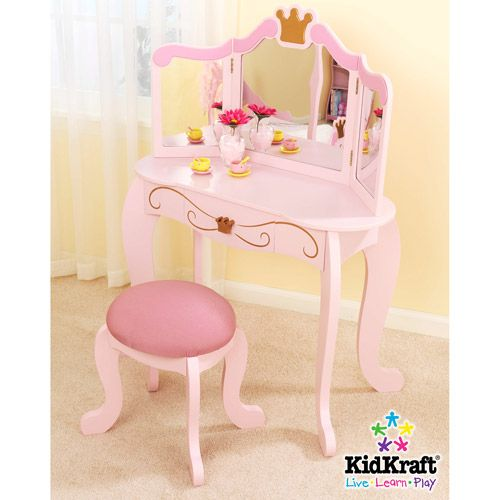 KidKraft - Princess Vanity and Stool