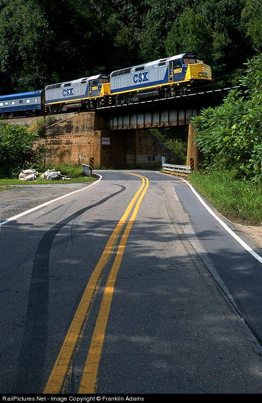 RailPictures.Net Photo: CSXT 9992 CSX Transportation (CSXT) EMD F40PH at Relief, North Carolina by Franklin Adams
