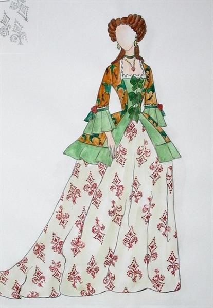 Исторические костюмы 17 века