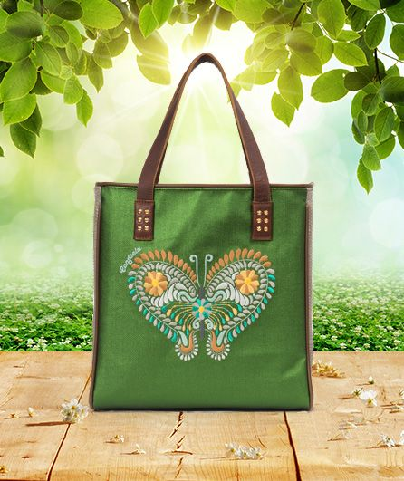 The Monarch Tote from Consuela