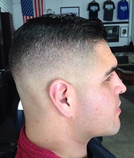 High tapered fade | Mens Hair Styles | Pinterest