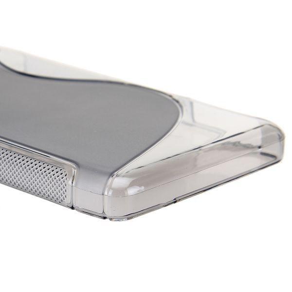 S-Line Transparent (Grå) Motorola DROID RAZR MAXX HD Deksel