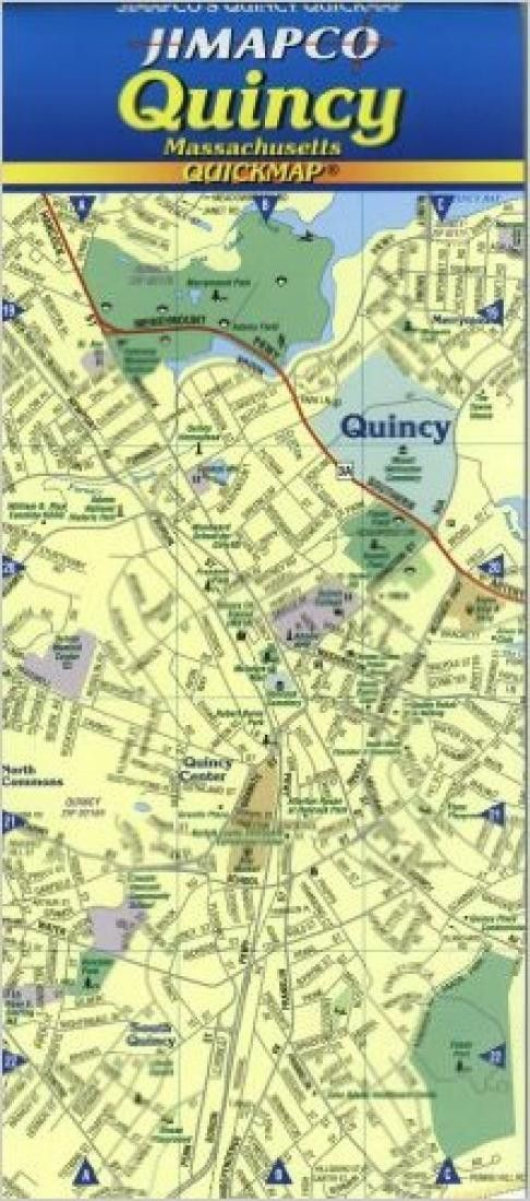Quincy, Massachusetts, Quickmap by Jimapco