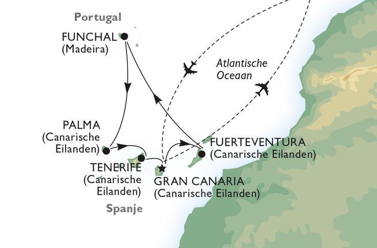 Bezoek de Canarische Eilanden tijdens een fly-en-cruise met MSC!