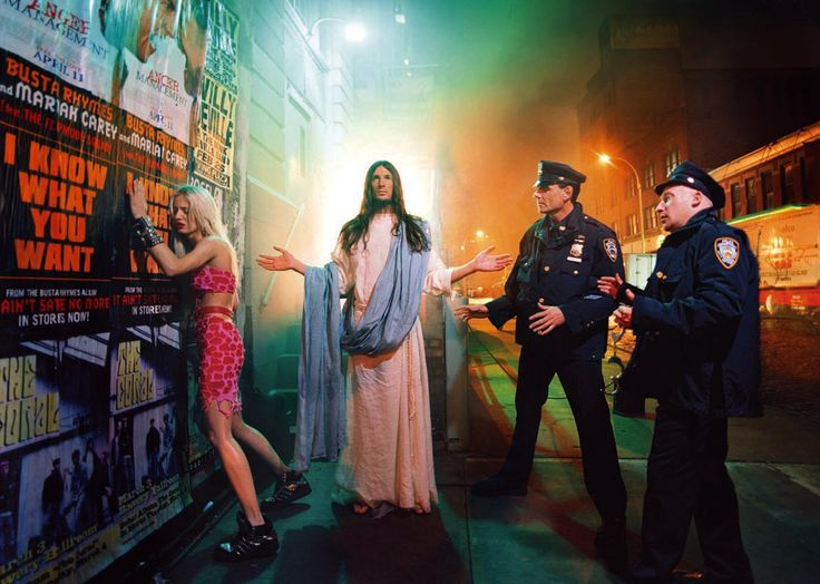 Intervention, Jesus is my Homeboy Series, by David LaChapelle | 2003 | Digital C Print