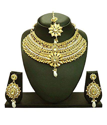 Dazzling Indian Bollywood White Stone Gold Plated Choker ... https://www.amazon.com/dp/B06X3TW9HM/ref=cm_sw_r_pi_dp_x_OGaRybG1DJ8FS