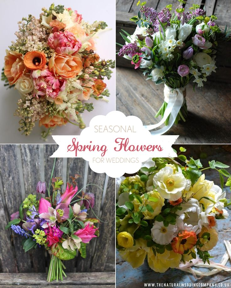 Why You Should Choose Seasonal Blooms For Your Spring Wedding