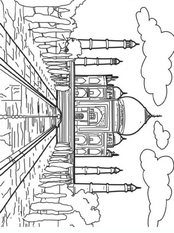 73 best Printables: Coloring (Places & Buildings) images
