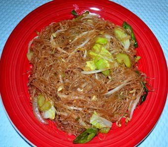 Pad Woon Sen-new favorite easy dinner