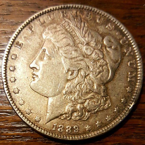 Dólar de plata de Morgan 1889
