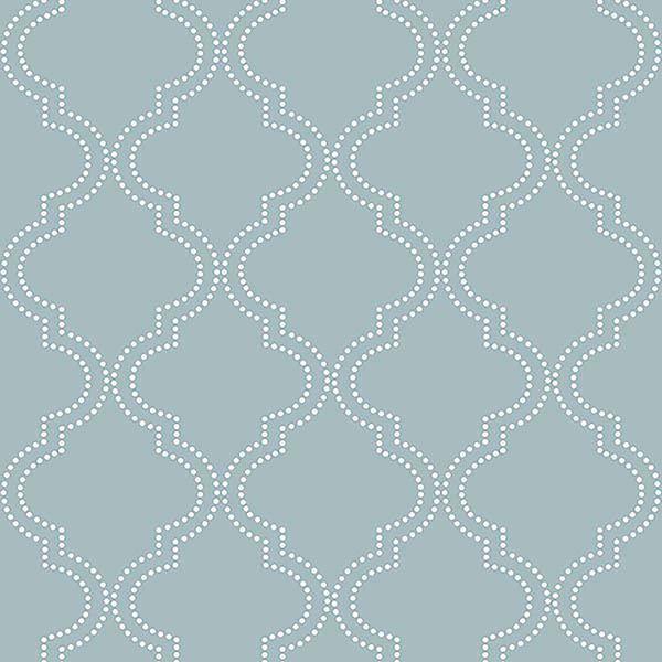 Slate Blue Quatrefoil Peel And Stick Wallpaper In 2020 Quatrefoil Wallpaper Peel And Stick Wallpaper Nuwallpaper