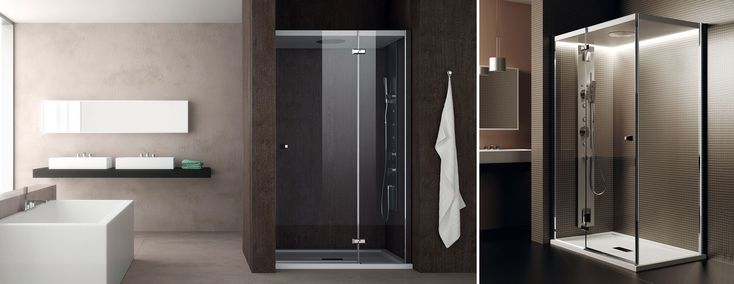 Perché scegliere tra estetica e comfort? Scopri Chapeau! la doccia in cui il calore non si disperde e il vapore resta all'interno della cabina.