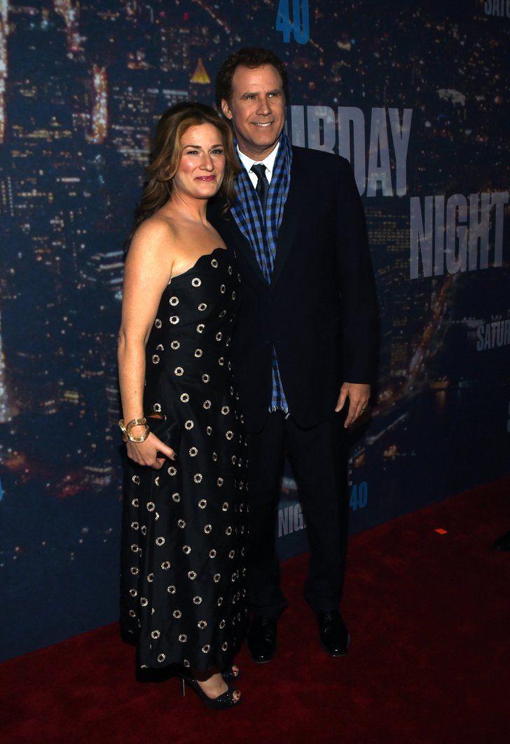 Pin for Later: Saturday Night Life rief und die Stars kamen in Scharen Will Ferrell und Ana Gasteyer