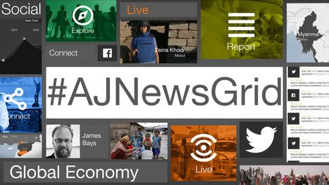 NewsGrid - Al Jazeera's interactive news hour | THE OTHER EYEWITTNESS - news | Scoop.it