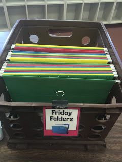 Check out my Friday Folder system and enter to win a $50 TpT gift card!