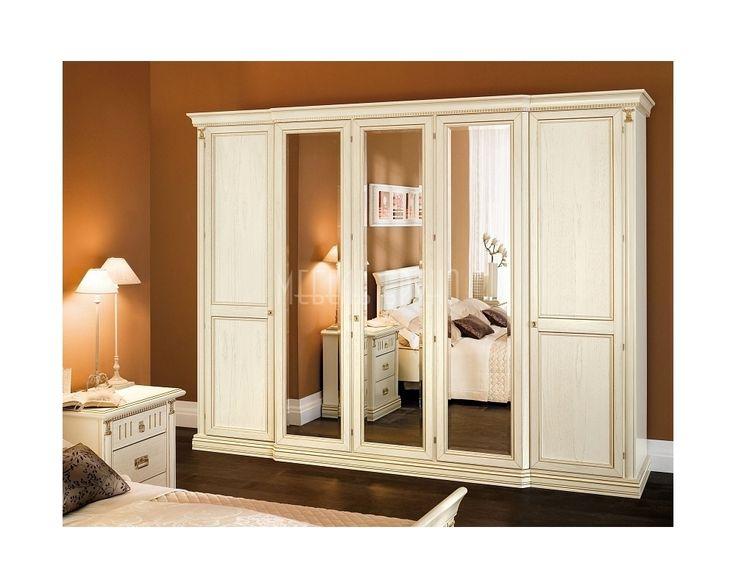 Распашной шкаф Глория. Классика, цвет айвори и огромное зеркало. На наш взгляд, эта модель идеально подходит для спальни или детской http://www.shkafe.ru/shkafy/shkaf-glorija/