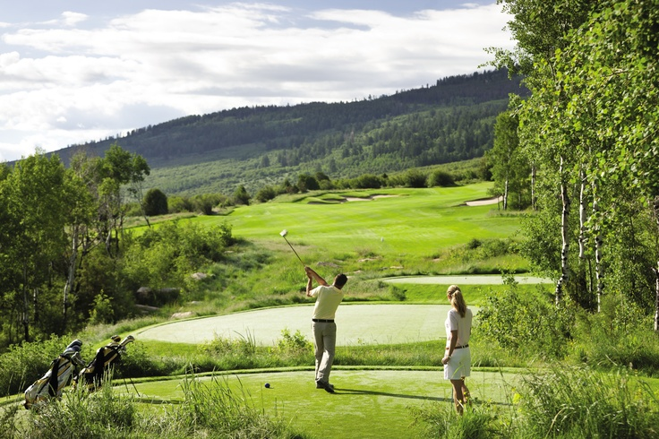 Golf aficionados staying at @Four Seasons Resort Vail can alternate play between a Tom Fazio Course and a Greg Norman Course