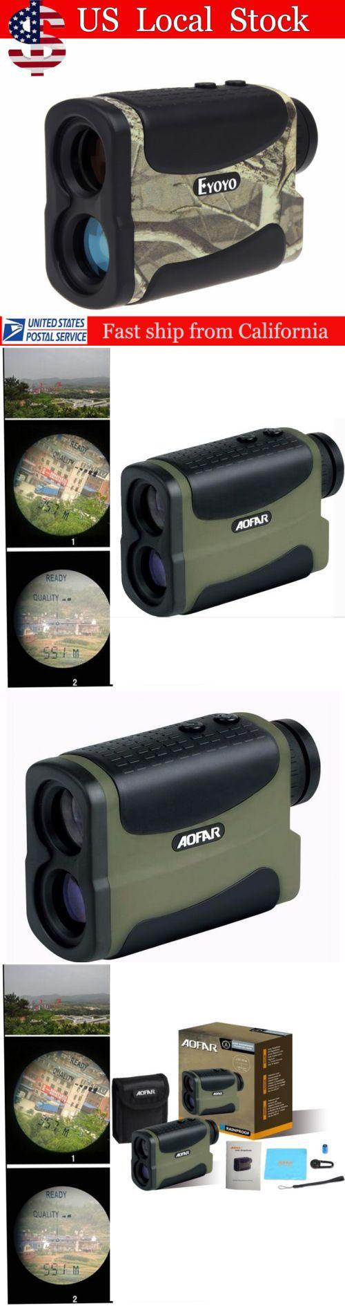 Range Finders 31712: Eyoyo Golf Huntinglaser Range Finder Telescope Distance Speed Measurer Green -> BUY IT NOW ONLY: $85.26 on eBay!