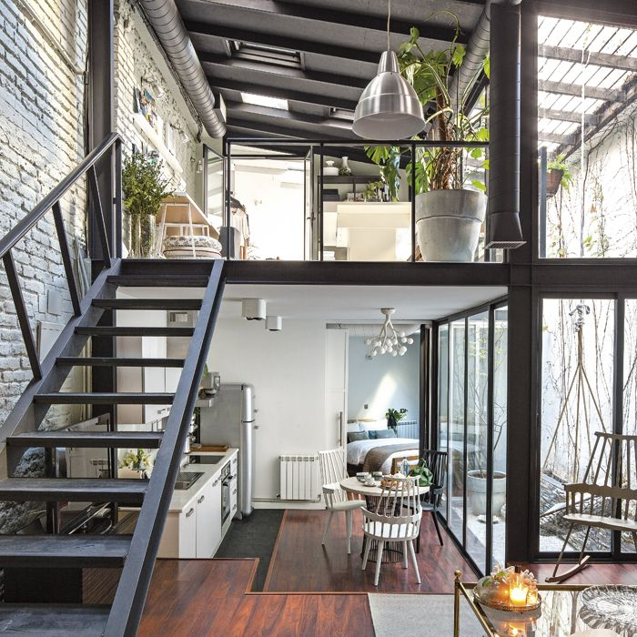 Best Stek INTERIOR LOFT Images On Pinterest A Paris - A loft with industrial design by russian designer maxim zhukov
