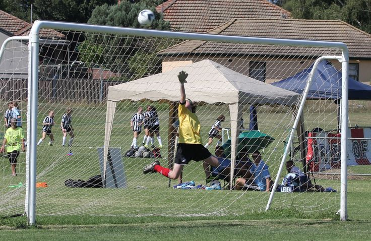 Great save by the Under12 A Northbridge Keeper.