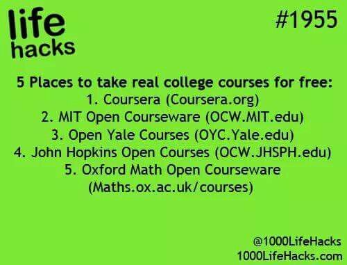 Online college courses