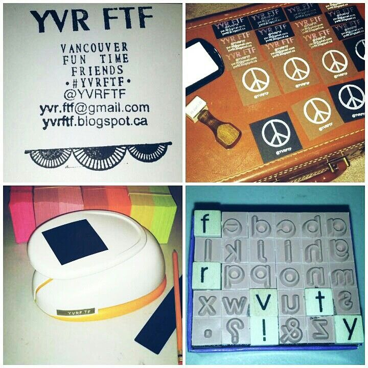 Every single #YVRFTF flyer is handmade because I REALLY REALLY REALLY want you to come hang out! {Tash} #Vancouver #YVR