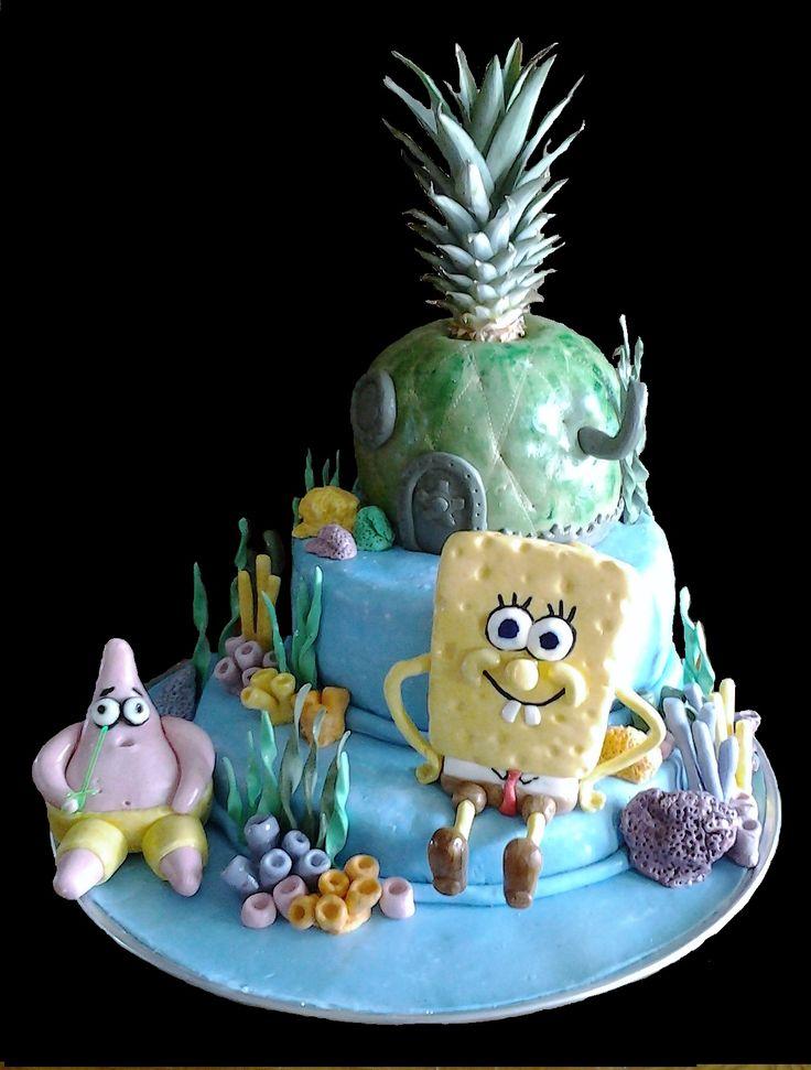 Spongebob pour les 8 ans de Nathan -                Fev 2017