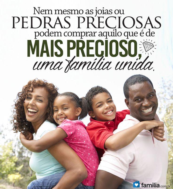 Nada mais precioso que uma família unida!