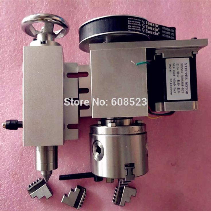cnc machinist resume%0A Axis Tailstock CNC dividing head Rotation Axis  A axis kit for Mini CNC  router engraver wood working engraving