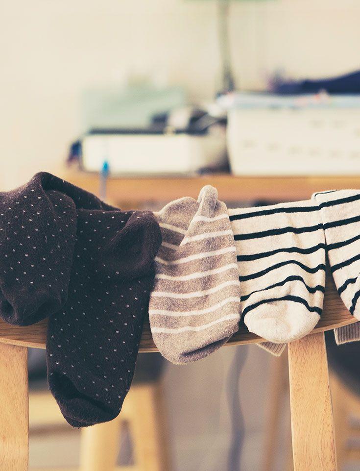 Alte Socken Einfach Wegschmeissen Nein Das Muss Doch Nicht Sein