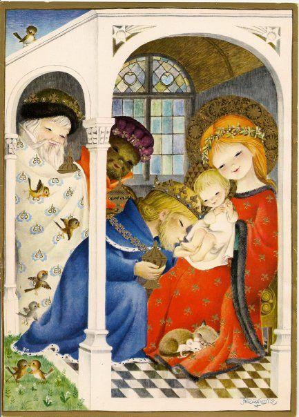 Juan Ferrándiz: La adoración de los Reyes