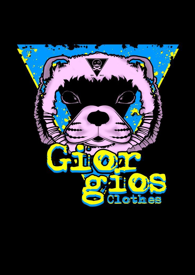 """DESIGN FOR """"GIORGIOS CLOTH"""" T-SHIRT"""