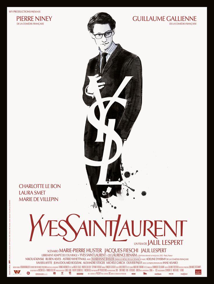 Yves Saint Laurent (je vous laisse lire l'affiche pour le reste). film sublime qui montre bien l'oeuvre de ce grand couturier et qui donne envie d'en porter donc les fashonistas acheteuses compulsive ne doivent pas le voir. l'époque, le climat intellectuel, tout est retranscrit