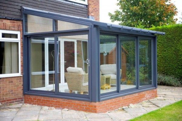 1000 images about conservatory on pinterest armchairs for Grey upvc porch