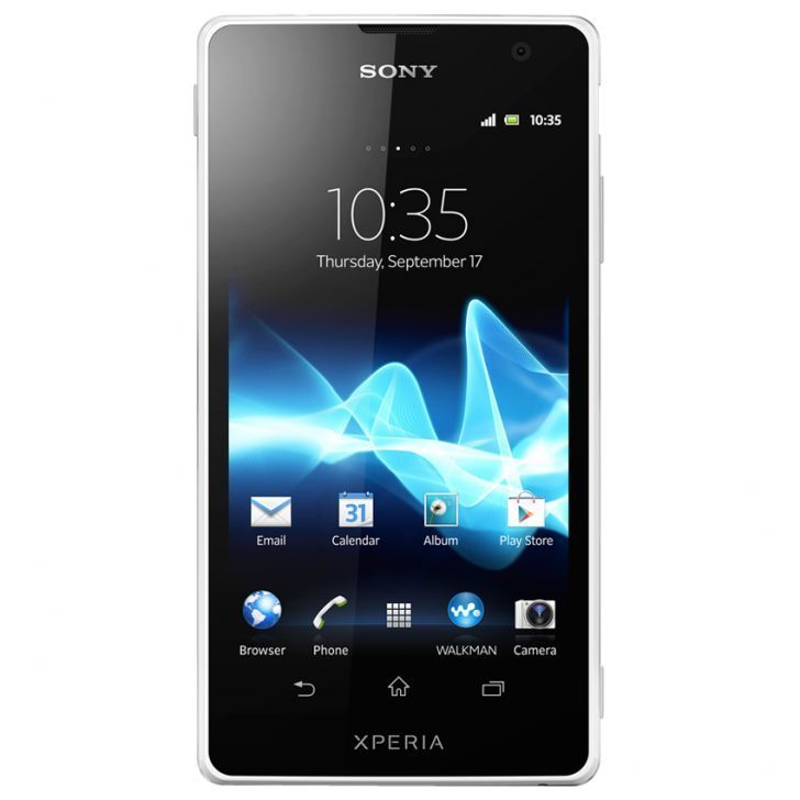 Sony Xperia TX 16 GB, with charger, USB cable and headset. http://www.zocko.com/z/JHlfV