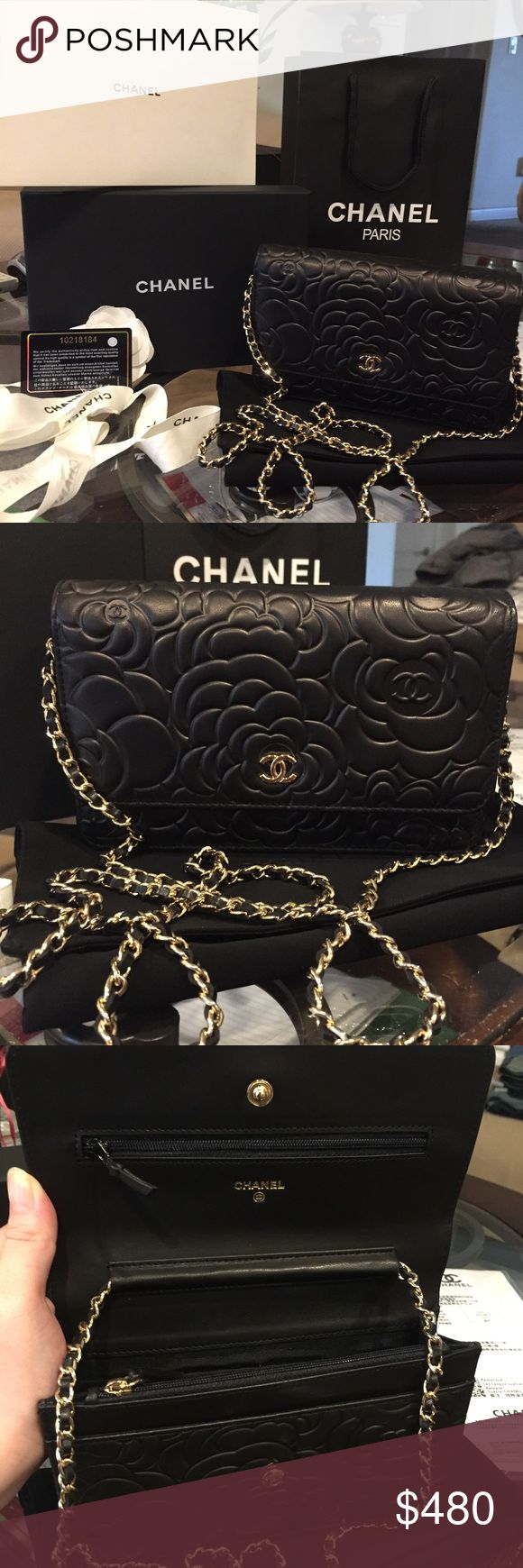 CHANEL WOC camelia Pre order only comes with everything brandnew Bags