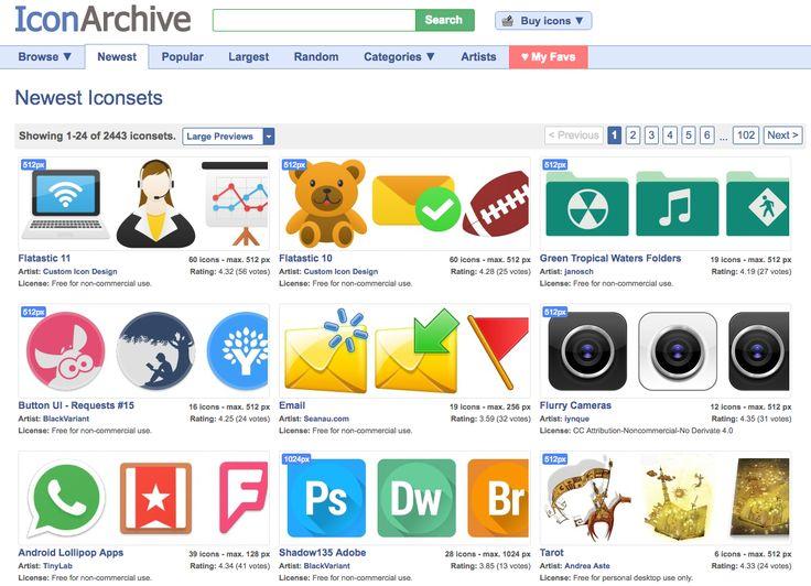 Pictogrammes gratuits - Iconarchive - creads