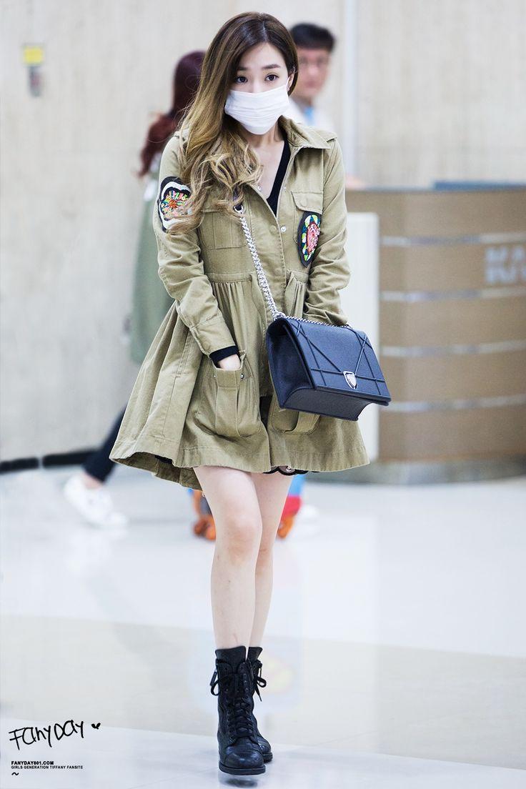 Tiffany snsd airport fashion