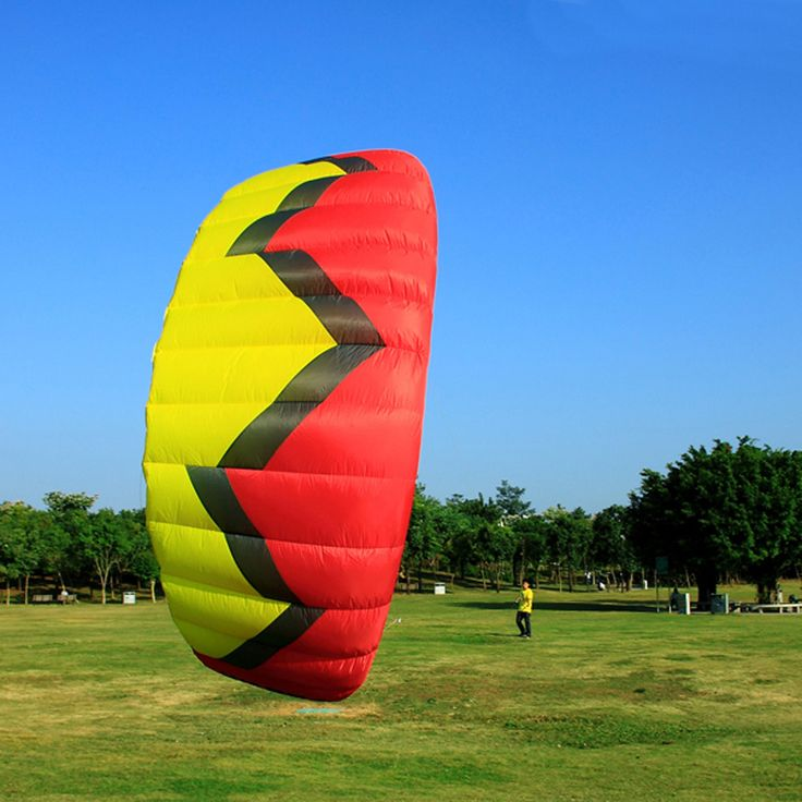 5Sqm Quad Line Traction Power Kite Set With Handle Kitesurfing Kiteboarding Trainer Kite Stunt Kite