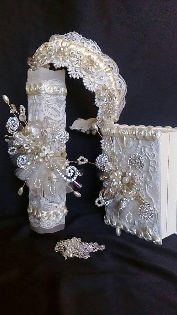 First Communion candle head Comb set de vela por FANNYCARMENDESIGN
