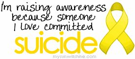 I have lost  loved ones to Suicide and I just pray that you don't have to ever go through this agony: http://www.suicidepreventionlifeline.org/
