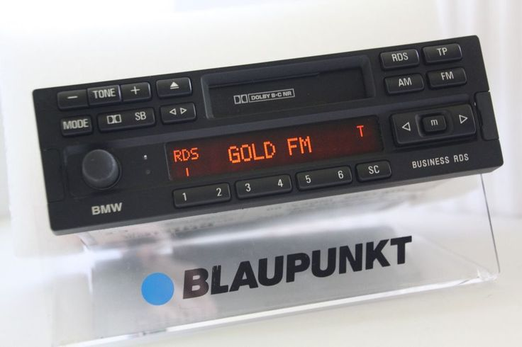 Bmw Business Rds Philips Tape Radio Casette Player E23 E24