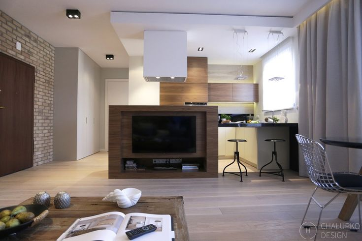 modern industrial apartment 5 Post Industrial Apartment in Warsaw Exhibiting a Clean and Elegant Design [Video]