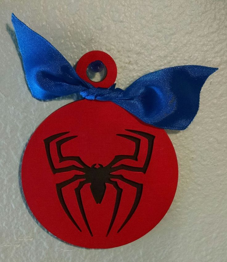 A personal favorite from my Etsy shop https://www.etsy.com/listing/205665800/spiderman-christmas-ornament