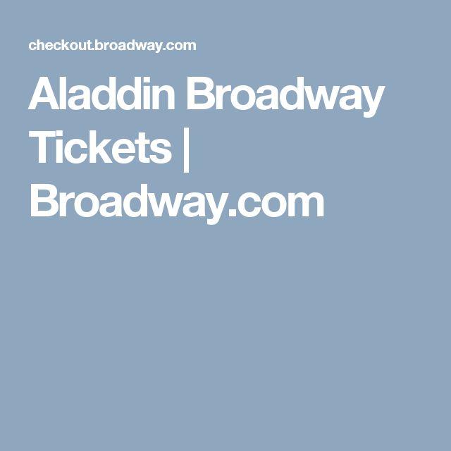 Aladdin Broadway Tickets |             Broadway.com