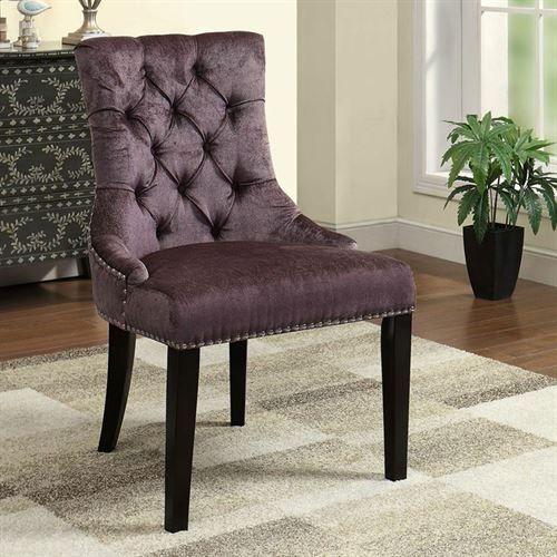 Danica Accent Chair Plum