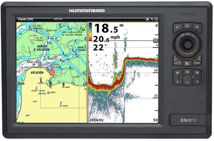 SONDEUR / GPS COULEUR HUMMINBIRD ONIX 10 CXI 2D