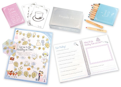 Childrens Activity packs for weddings - perfect for entertaining young guests at the wedding breakfast