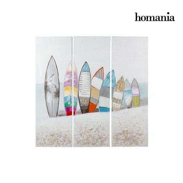 El mejor precio en Hogar 2017 en tu tienda favorita https://www.compraencasa.eu/es/cuadros-carteles/96859-set-de-3-cuadros-oleo-surf-by-homania.html